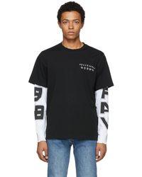 DIESEL - Black T-sound Layer T-shirt - Lyst