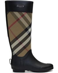 Burberry - Black Simion Rain Boots - Lyst