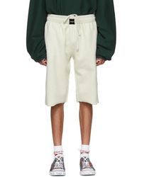 Vetements - White Oversized Inside-out Sweat Shorts - Lyst