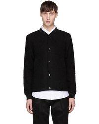 Saturdays NYC - Black Julian Varsity Jacket - Lyst
