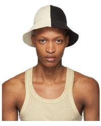 36ef77c7d0b Lyst - Acne Studios Off-white Bla Konst Sun M Sat Bucket Hat in Blue ...