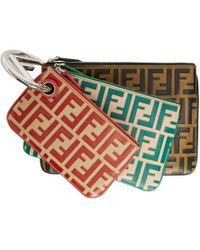 Fendi - Multicolor All Over F Is Triplette Ring Clutch Set - Lyst