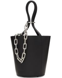 Alexander Wang - Black Mini Roxy Bucket Bag - Lyst
