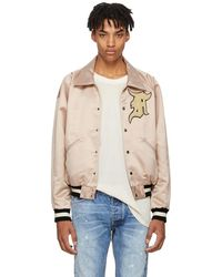 Fear Of God - Pink Satin Coaches Jacket - Lyst