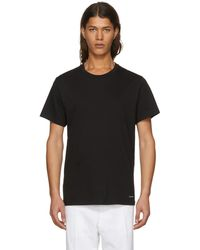 Calvin Klein | Three-pack Black Crewneck T-shirt | Lyst