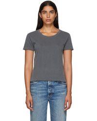 AMO - Black Twist T-shirt - Lyst