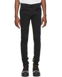 DIESEL - Grey D-istort 082am Jeans - Lyst