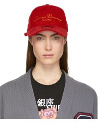 Opening Ceremony - Red New Era Edition Corduroy Cap - Lyst