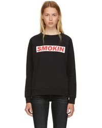 6397 - Black Smokin Sweatshirt - Lyst