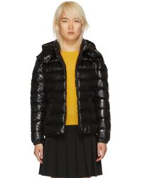Moncler - Black Down Bady Jacket - Lyst