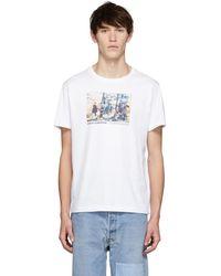 Helmut Lang - White Carolee Schneemann Edition Jumping Print T-shirt - Lyst