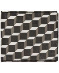 Pierre Hardy - Multicolor Canvas Cube Wallet - Lyst
