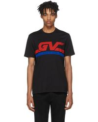 Givenchy - Black Gv World Tour Jersey T-shirt - Lyst