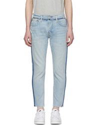 Levi's - Blue 512 Slim Wrong Side Out Jeans - Lyst