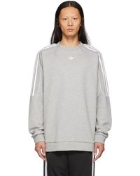 adidas Originals - Grey Radkin Sweatshirt - Lyst