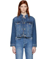 Won Hundred - Blue Denim Courtney Jacket - Lyst