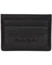 Burberry - Black Sandon Card Holder - Lyst