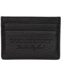 Burberry - Black Sandon Card Holder - Lyst