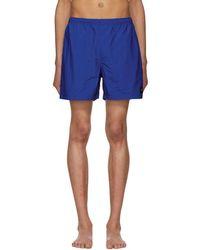 Noah - Blue Swim Shorts - Lyst