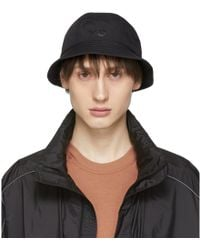 Y-3 - Reversible Black Logo Bucket Hat - Lyst