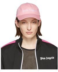 Palm Angels - Pink Classic Logo Cap - Lyst