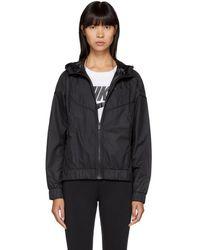 Nike - Black Windrunner Jacket - Lyst