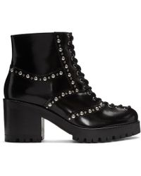 McQ - Lace-up Chunky Boots - Lyst