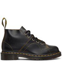 Dr. Martens - Black Vintage Church Boots - Lyst
