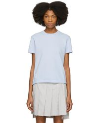 Thom Browne - Blue Classic Pique Relaxed T-shirt - Lyst