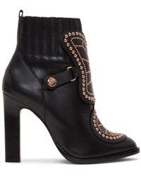 Sophia Webster - Black Karina Boots - Lyst