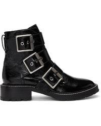 Rag & Bone - ブラック Cannon バックル ブーツ - Lyst