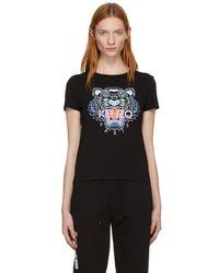 KENZO - Black Classic Tiger T-shirt - Lyst