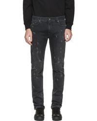 Marc Jacobs - Black Distressed Jeans - Lyst