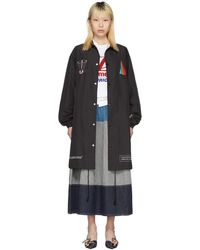 Undercover - Black Spiritual Noise Over Coat - Lyst
