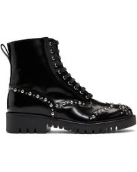 McQ - Black Bess Derby Boots - Lyst