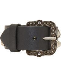Gucci | Black Feline Head Bracelet | Lyst