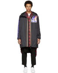 DSquared² - Reversible Black K-way Edition Windbreaker Parka - Lyst