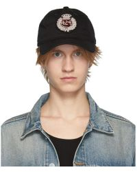 08d7114c1fa Lyst - Undefeated The Undftd Applique Strapback in Black for Men