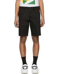 Prada - Black Tailored Shorts - Lyst