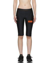 Heron Preston - Black Biker Shorts - Lyst
