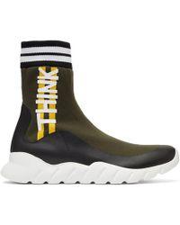 Fendi - Multicolor Sock Think High-top Sneakers - Lyst