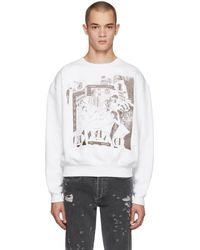 Enfants Riches Deprimes - White Bath House Orgy Sweatshirt - Lyst
