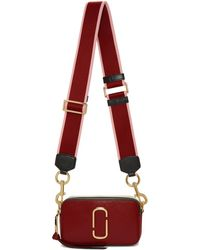 Marc Jacobs - Red Small Snap Shot Camera Bag - Lyst