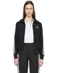 adidas Originals - Black Foundation Track Jacket - Lyst