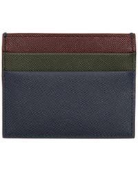 Marni - Multicolor Saffiano Card Holder - Lyst