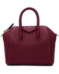 Givenchy - Red Mini Antigona Bag - Lyst