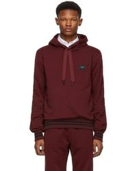 Dolce & Gabbana - Red Classic Plaque Hoodie - Lyst