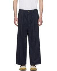 Wheir Bobson - Indigo Baggy Jeans - Lyst