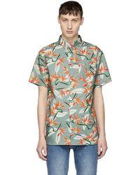 Saturdays NYC - Multicolour Esquina Paradise Shirt - Lyst