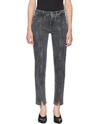 Givenchy - Grey Skinny Fit Lightning Jeans - Lyst